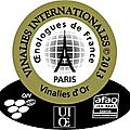 Vinalies internationales, medaille d'or (gold medal ) chateau lauriga