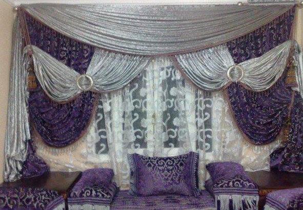 Rideaux pour salon marocain pas cher