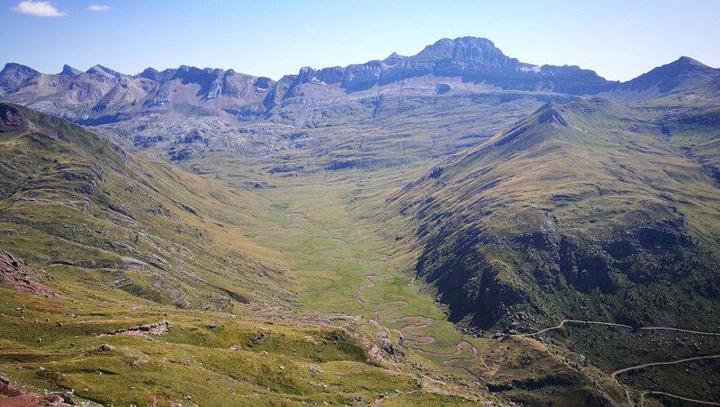 M) Lac d'Arlet, pic d'Aillary, Aguas Tuertas et Visaurin