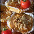 Moelleux à la tomate et à la mozzarella