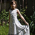 Robe flamenco taille 8 ans