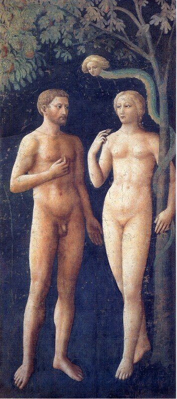 Masolino__Adam___Eve