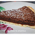 Tarte brownie (thermomix ou pas )