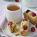 Mini cake {sésame & framboise} #vegan