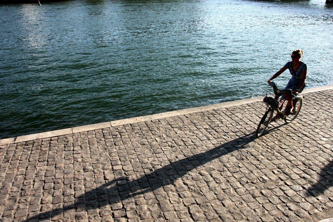 Vélo, Quai de seine, Pt des Arts, Ombres_4994