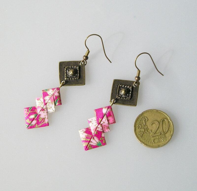 BO Origami papier japonais rose SOFIA 4