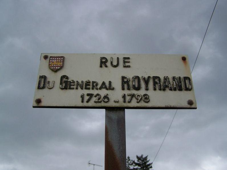 Saint-Fulgent (85), rue du Général Royrand