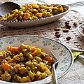 Poêlée de céleri rave et carottes au miel