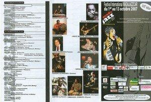 Programme Madajazzcar 2007