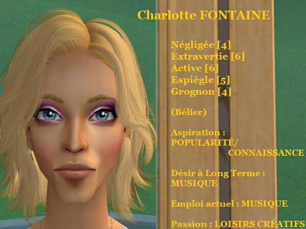 Charlotte FONTAINE