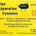 Restauration de dynamo