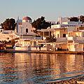 Croisière en voilier en grèce à la découverte des cyclades. jour j+4 : visite de mykonos - visiting mykonos