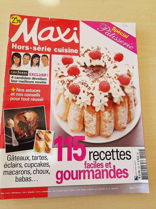 Maxi Hors-série cuisine 15H