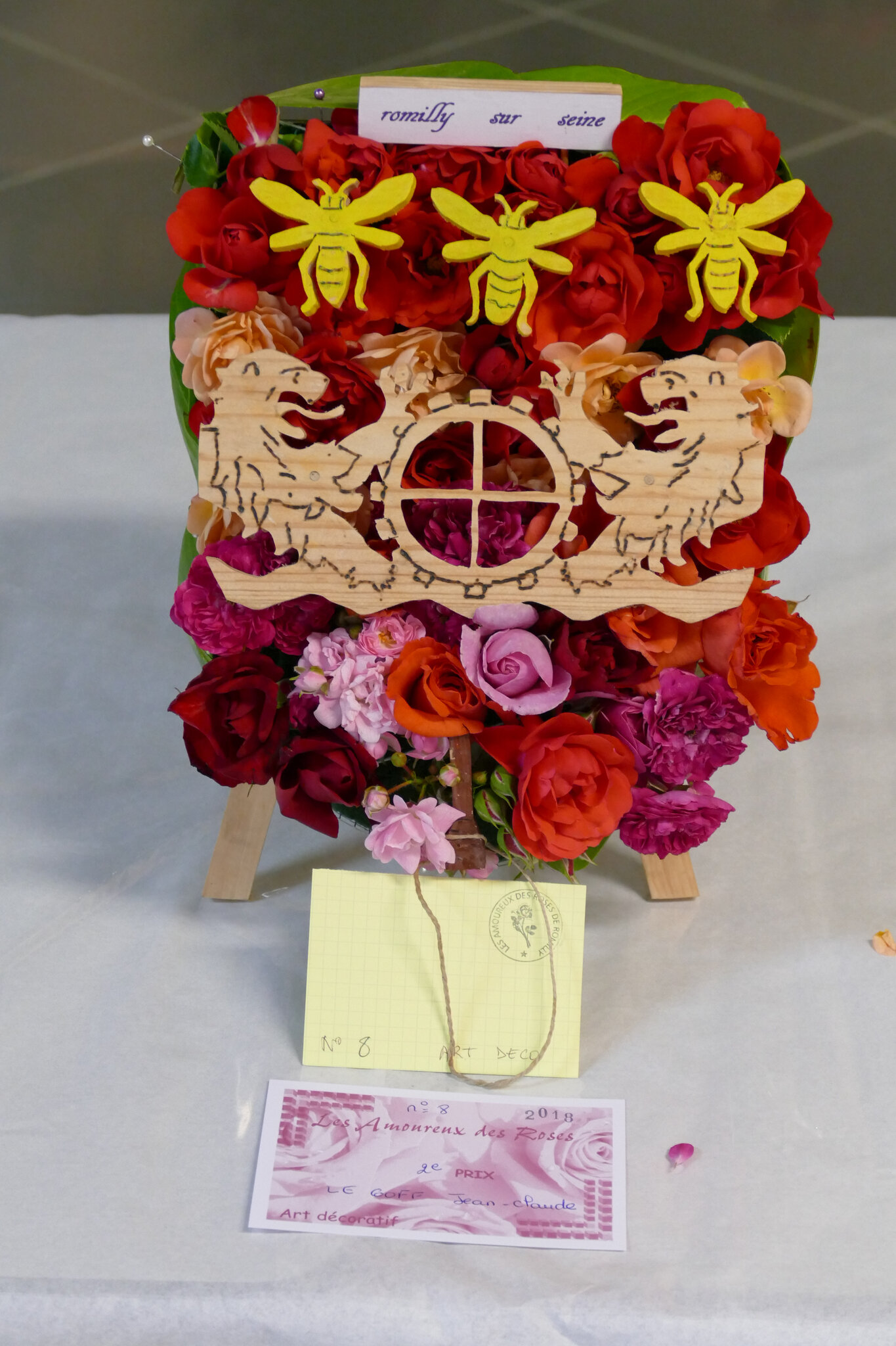 Exposition de roses 2018