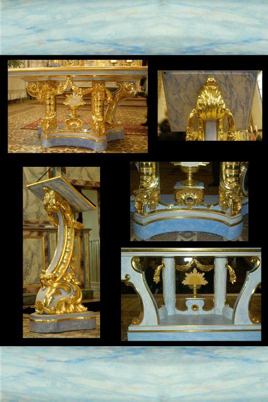 autel - église Châtenois, Alsace