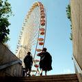 La grande roue au même endroit que cet hiver,