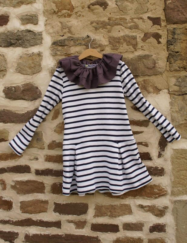 robe pb like et col Pierrot