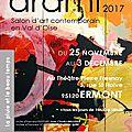 Arami édition 17 - je participe à cette exposition avec mes paysages
