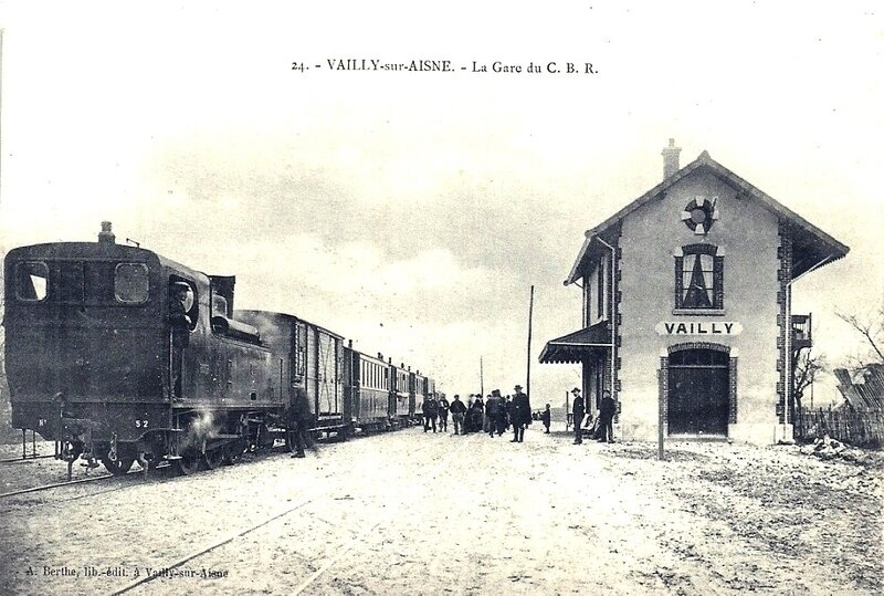 vailly gare du tramway