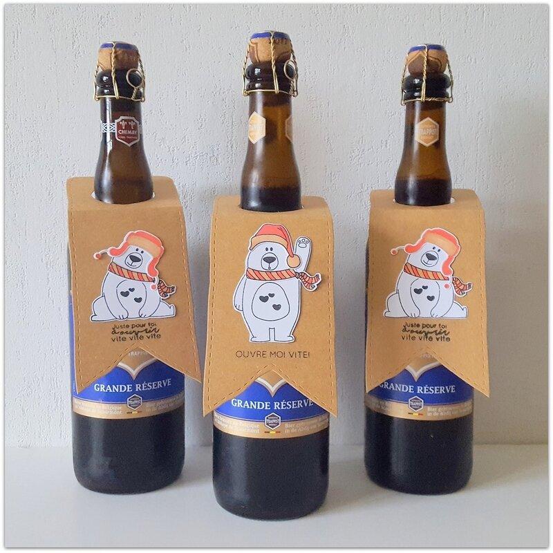3 bieres