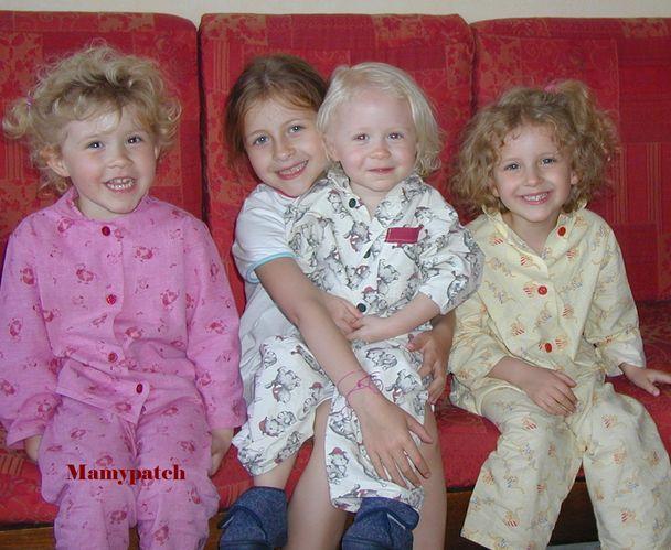 Pyjamas des 4