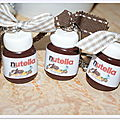 Porte Clé pot de Nutella