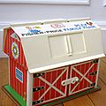 Ferme Fisher Price vintage - 1967