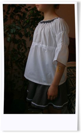Bluzeczka i spodniczka01d