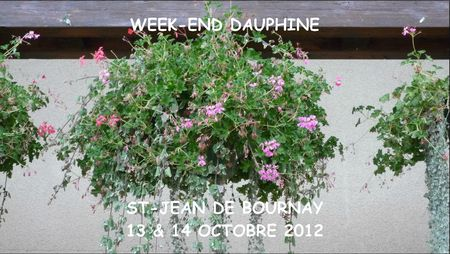 WEEK-END EN DAUPHINE - CONFERENCE LITTERAIRE
