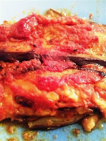 Aubergines parmigiana ©Kid Friendly