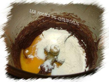 Moelleux chocolat cerises 6