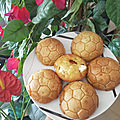 Muffins 'foot' feta tomate cerise courgette ou concombre