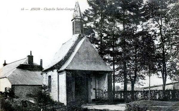 ANOR-Chapelle Saint Gorgon