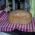 Le 4 janvier est né.... mon 1er pain !!!
