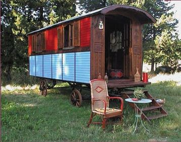 Dans Ma Petite Roulotte Spanish Caravan Frenchi In