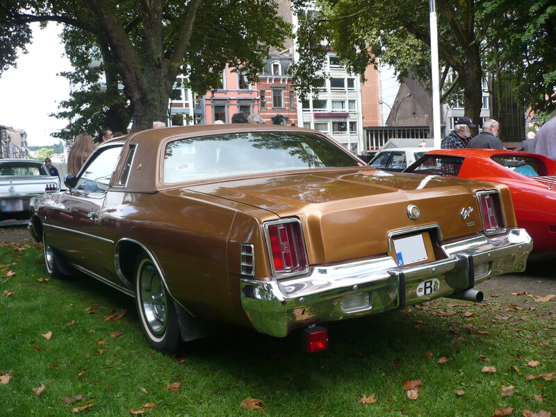 CHRYSLER Cordoba 2door hardtop coupé 1977 Liège (2)