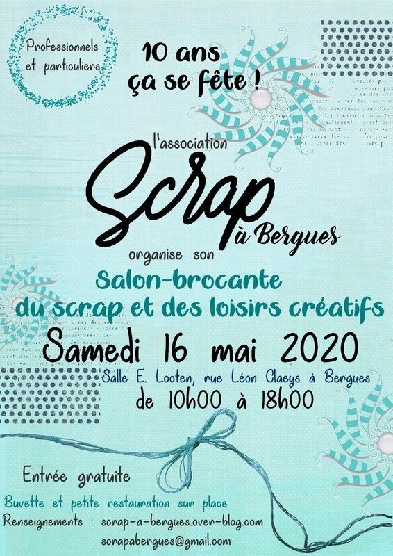 Affiche salon Bergues 2020