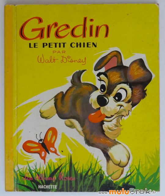 GREDIN-le-petit-chien-1-Disney-Albums-roses-muluBrok