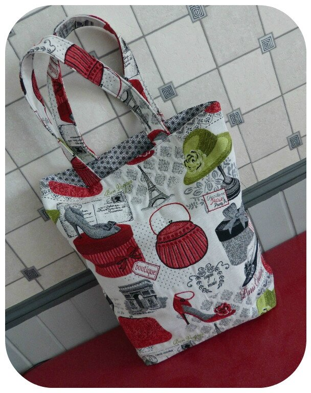 gd tote bag paris