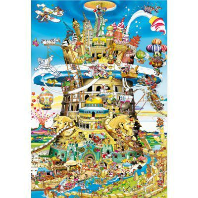educa-puzzle-1500-pieces-la-tour-de-babel-humoristique