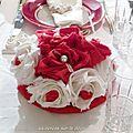 bouquet fleurs en tissus 1