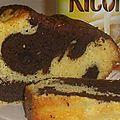 Cake marbré, le grand classique