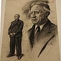 Portrait de lucien brasseur