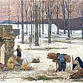 Puvis de Chavannes, L'hiver (1896)