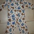 Pyjama polaire pour Hoël