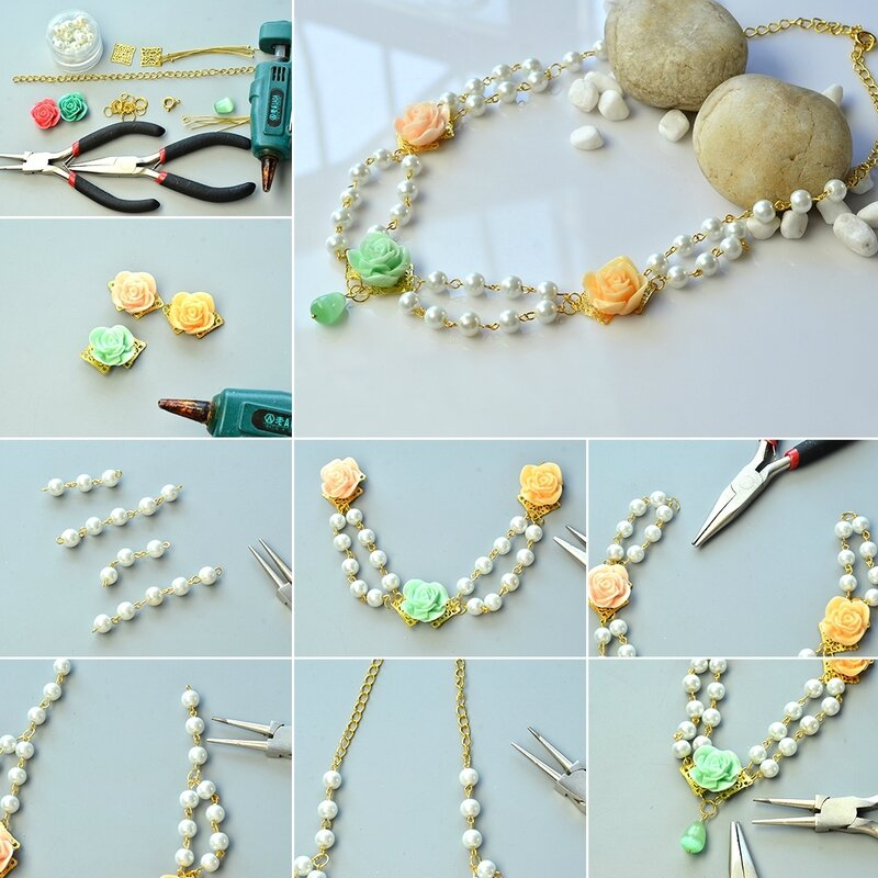 1080-Easy-Instructions-on-Flower-Resin-Bead-Pendant-Necklace-with-Pearl-beads