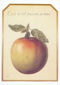 Magritte_pomme