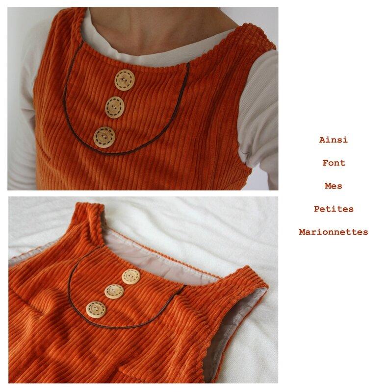 robe orange 2