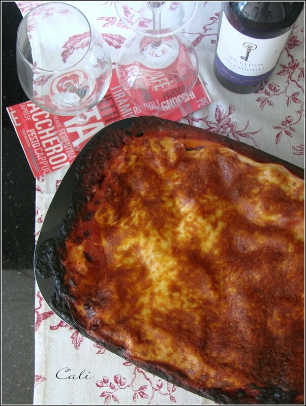 Lasagnes à ma Façon 001