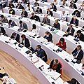 16 octobre 2017: réunion plénière du conseil regional de normandie à caen